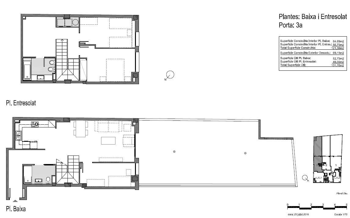 Dúplex 3 dormitorios - VENDIDO