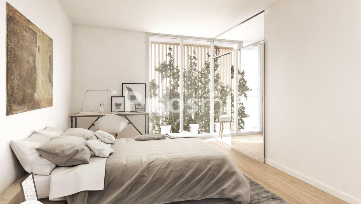 Obra Nueva Barcelona Horta habitación